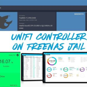 FreeNAS 11.2 - How to Create Jail and Install #UniFi Controller on #FreeNAS 11.2R