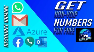 HOW TO GET NON-VOIP NUMBERS FOR FREE FOR AZURE, GMAIL AND OTHER SERVICES - BYPASS OTP🔥💯