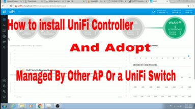 How to Install UniFi Controller | Adopt Managed AP| UniFi Access Point Adoption.