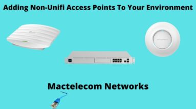 Adding Non Unifi Access Points To Your Environment | Unifi Switch port profile