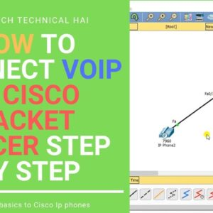 VOIP |How to connect Voip phone in cisco Packet tracer step by step |2019| [SAB KUCH TECHNICAL HAI]