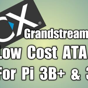 3CX-2 Low Budget PBX, PSTN to VoIP via Grandstream HT813 and RPi 3 B+