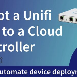 Adopt a Ubiquiti USG to a Unifi Cloud Controller & automate device deployments