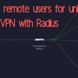 Adding user to Unifi L2TP remote VPN using Radius