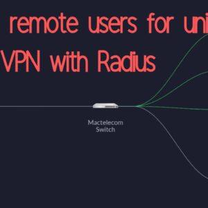 Adding user to Unifi L2TP remote VPN using Radius