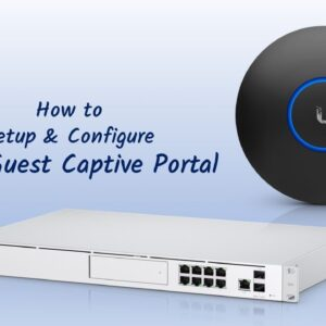 Unifi Guest Portal Setup And Configure: Learn how to set up WiFi Access for your guests.