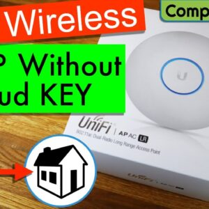 📶 Unifi | AP AC LR | Wireless Access Point Setup without Cloud Key on Home Network