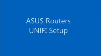 ASUS router quick how-to: Setup TM UNIFI