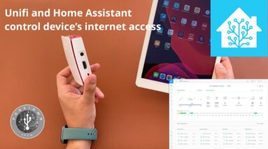Block internet access using Unifi and Home assistant