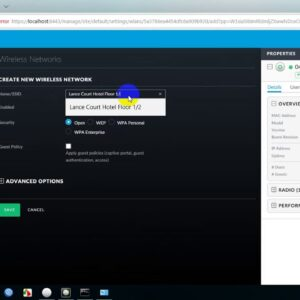How to Configuration Unifi2;របៀបconfigure Unifi 2
