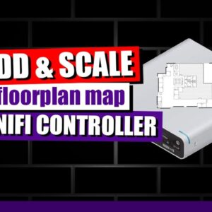 How To Add & Scale a Basic Floorplan Map in Unifi