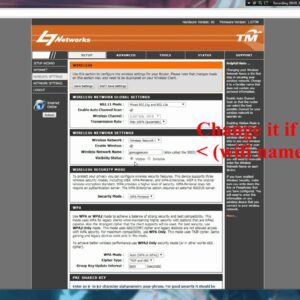 How to change TM Unifi Wifi Password & Username (PC)