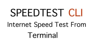 How to check internet speed via Terminal on Unifi CloudKey