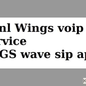 How to configure Bsnl Wings Voip Service on Grandstream Wave App - Hindi