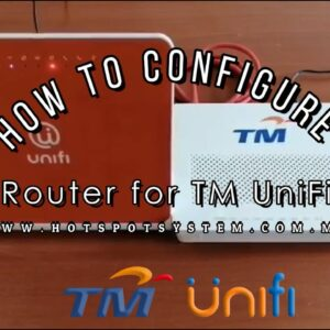 How to Configure Netis Router for TM UniFi (RG)