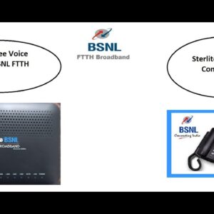 How to configure Sterlite ONT for VoIP Service in BSNL| BSNL FTTH