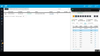 How to Configure Unifi Switch 8 POE 150W