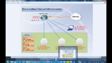 How to configure Vlans on UniFi access points #01