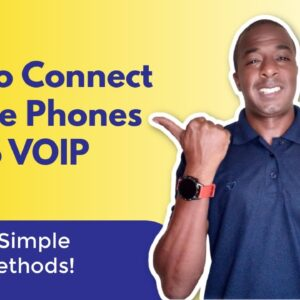 How to connect mobile phones to VOIP