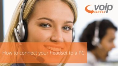 How to Connect Your Headset to a PC | VoIP Supply