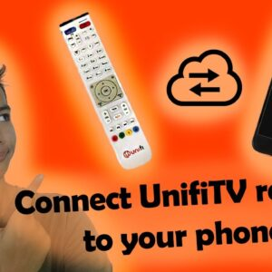 How To Control Unifi TV Remote With Your Phone?!
