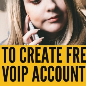 How to create sip voip account