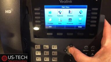 How To Forward A Yealink Voip Phone To A cell Phone