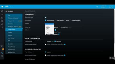 How to Guest Control in Unifi Controller