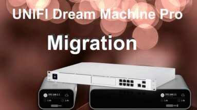 How to migrate your Unifi Cloudkey to your Dream Machine Pro!