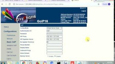 How To Register GoIP On FreePBX VOIP Server