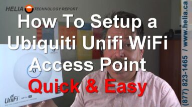 How To Setup and Configure UBNT Ubiquiti Unifi Wifi Access Points