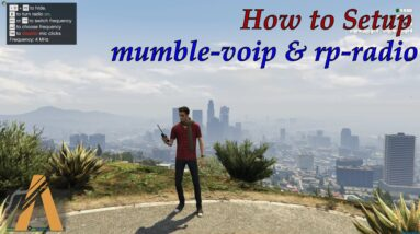How to Setup mumble-voip & rp-radio for FiveM