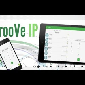 How to Sing up GrooVe IP VoIP calls and text?