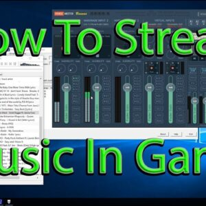 How To Stream Music In Game Over VOIP