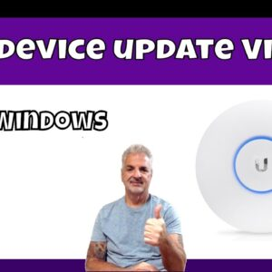 How To Update A Unifi Device Via SSH: Part 1 Windows
