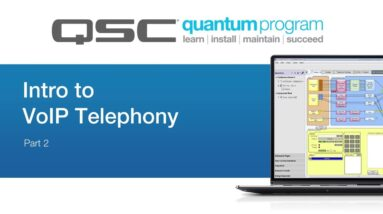 Intro to VoIP Telephony - Part 2 (QSC Quantum)