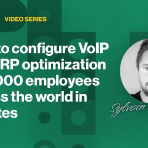 Cato Demo: How to configure VoIP and ERP optimization for 3000 employees across the world in minutes