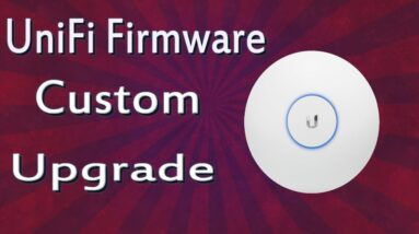 How To Upgrade Firmware On Ubiquiti UniFi access point | Custom Upgrade | Via HFS Software.