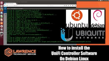 How to install the UniFi Controller Software on a Debian Based Linux Distro such as Ubuntu