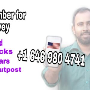 How to get USA real phone verification for survey. USA Non-VoIP phone number.