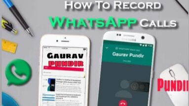 How to record whatsapp call | How to record voip calls | Record Insta Whatsapp Calls