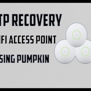 How To Perform TFTP Recovery on UniFi Access Point | Windows | Using Pumpkin Software