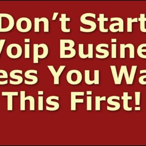 How to Start a Voip Business | Including Free Voip Business Plan Template