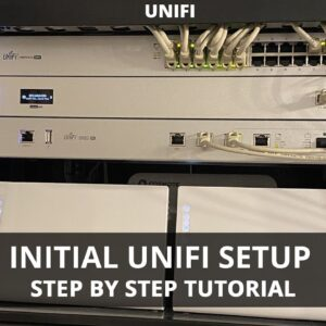 Initial UniFi Setup for Beginners - Setting Up Cloud Key Gen 2 Plus, UniFi Security Gateway Pro
