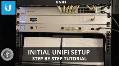 Initial UniFi Setup for Beginners - Setting Up Cloud Key Gen 2 Plus, UniFi Security Gateway Pro