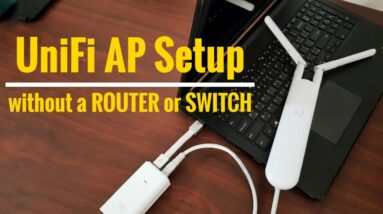Ubiquiti | How To Setup UniFi AP Directly To Your Computer