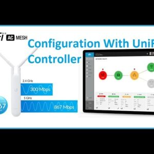 UniFi AC Mesh Configuration First time With Unifi Controller