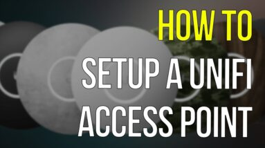 Unifi Access Point | How To Setup With Existing Router