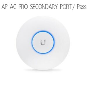 Unifi AP AC PRO secondary port / Passthrough