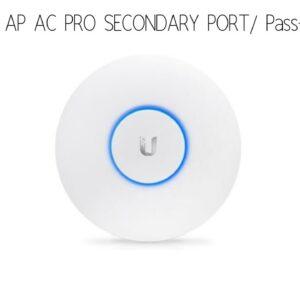 Unifi AP AC PRO secondary port / Passthrough